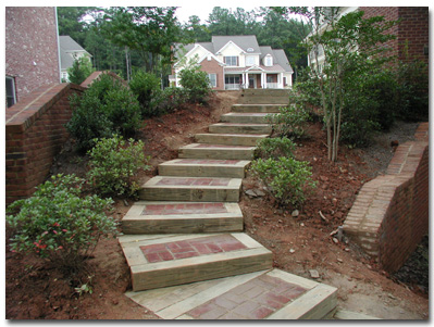 Pictures Of Landscape Timber Steps
