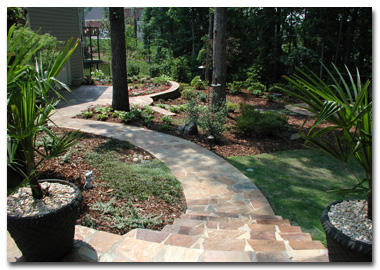 Design and installation by lost mountain landscape for Mountain landscape design